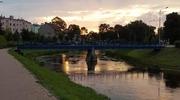 Zdjęcie Tygodnia. Zachód słońca nad Łyną w Bartoszycach