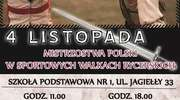 Zapraszamy na Mistrzostwa Polski w Sportowych Walkach Rycerskich