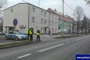 Kursanci ze Szczytna wspierali działdowskich policjantów