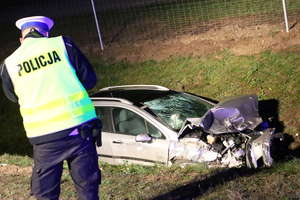 Śmiertelny wypadek na DK 51 pod Olsztynem. Droga jest całkowicie zablokowana [AKTUALIZACJA, ZDJĘCIA]