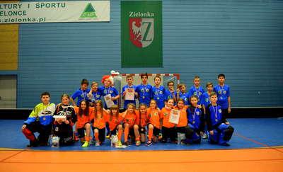 Ekipy KS Dragons Płoskinia na podium w Zielonce