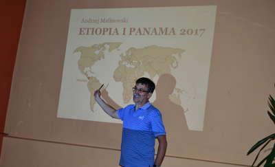 Andrzej Malinowski opowiadał o Etiopii i Panamie