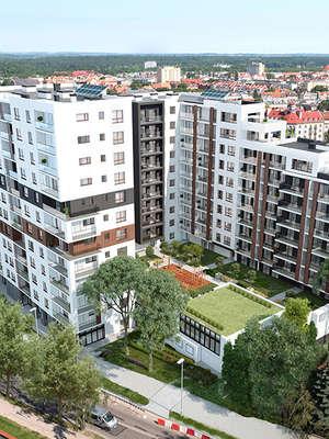 Apartamenty z panoramą Olsztyna