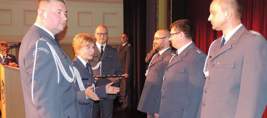 Spotkanie było także okazją do wyróżnienia funkcjonariuszy i pracowników ZK Iława