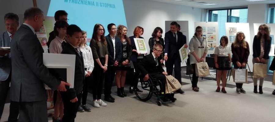 Rafał Kłosowski w Warszawie wśród laureatów konkursu