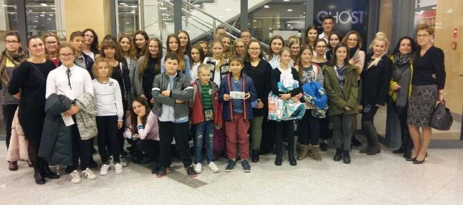 Nowomiejscy uczniowie w Gdyni