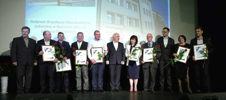 Nagrody otrzymały m.in. wspólnoty mieszkaniowe.