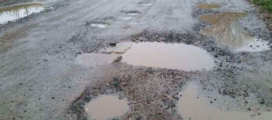 Zamiast pięciuset metrów nowej drogi w Olsztynie powstanie jedynie 180