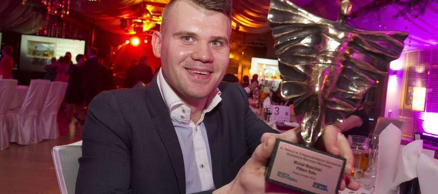 Przez ostatnie lata Michał Mościński był niemalże etatowym zwycięzcą konkursu Piłkarz Roku