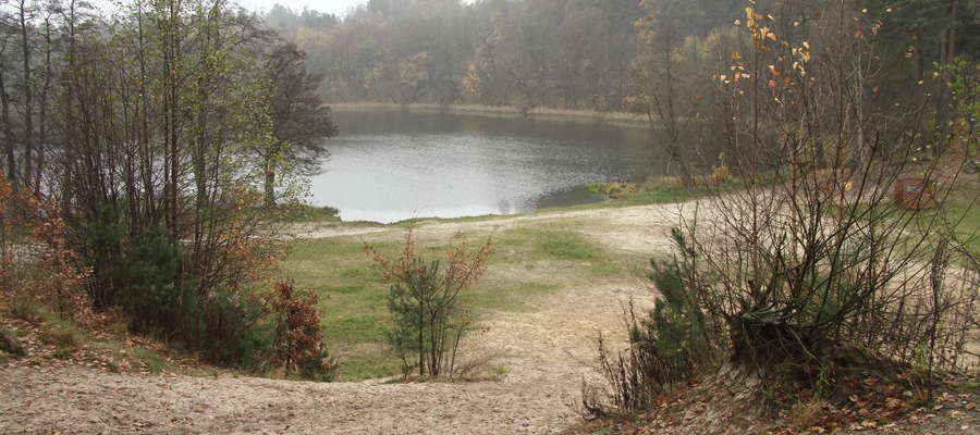 jezioro Skanda — mieszkańcy czekają na realizację projektu z budżetu obywatelskiego