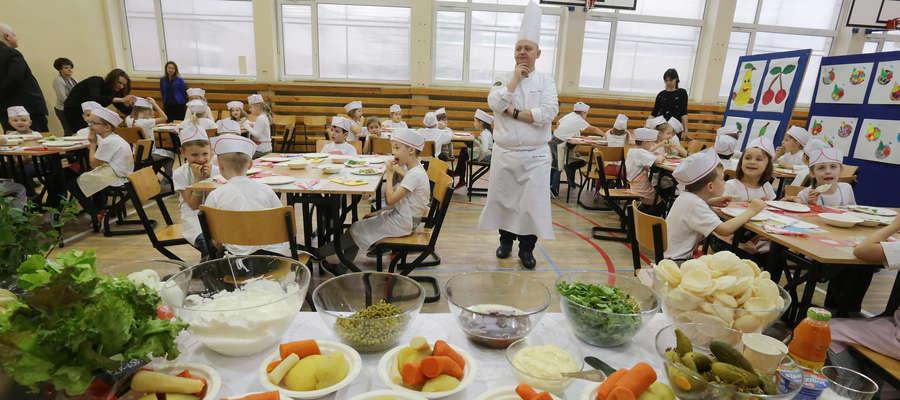 warsztaty kulinarne w SP 25