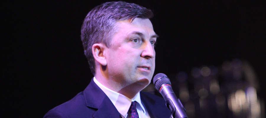 Dariusz Radziszewski, dyrektor oddziału banku BGŻ BNP Paribas w Olsztynie
