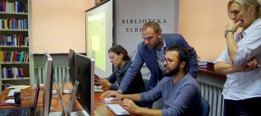 Podczas WikiMaratonu można było edytowali hasła Wikipedii dotyczące historii i zabytków Elbląga