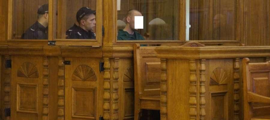 Proces Adriana D., oskarżonego o zabójstwo Teresy P. w Rychlikach