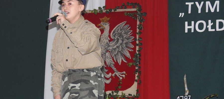 Podczas niepodległościowego konkursu recytatorskiego w zeszłym roku w Kurzętniku