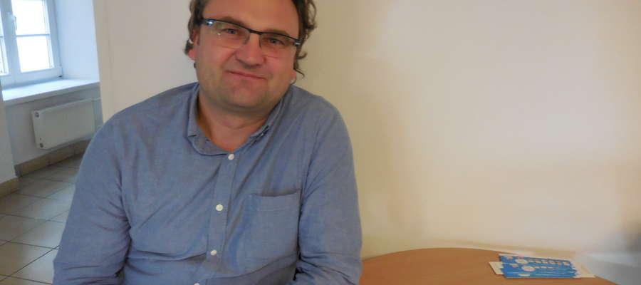 Grzegorza Strzeleckiego interesują głównie książki historyczne, ale nie stroni też od powieści