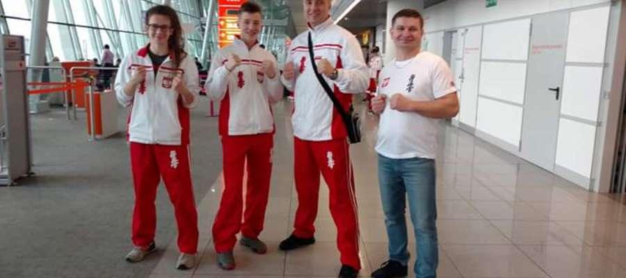 Nasi karatecy w drodze do Rumunii