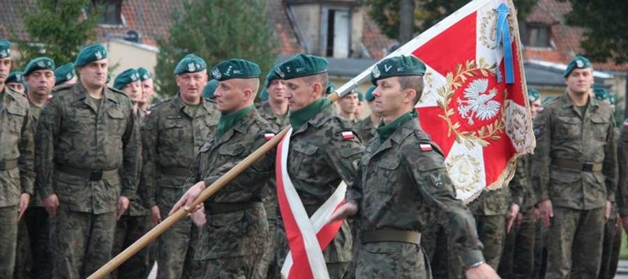 Żołnierze Garnizonu Lidzbark Warmiński