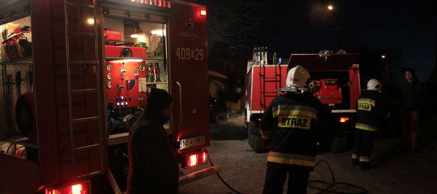 Strażacki tydzień: dwa pożary oraz inne działania