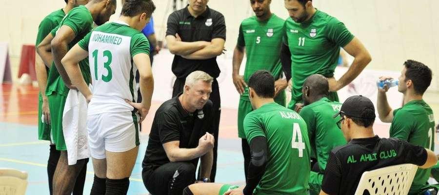 Mariusz Sordyl jeszcze w roli trenera katarskiego Al-Ahli Doha, gdzie przepracował cztery ostatnie sezony