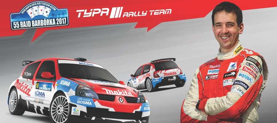 Radosław Typa pojedzie w Warszawie takim oto hybrydowym Renault Clio Proto