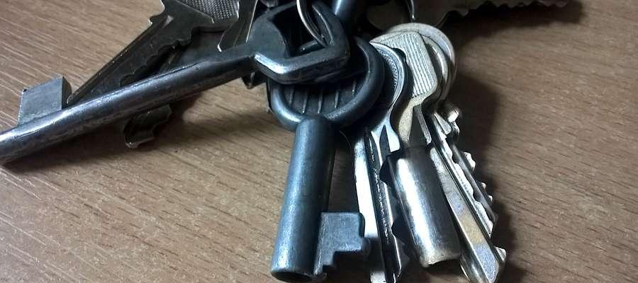 Widoczne na zdjęciu klucze nie są tymi odnalezionymi w Lubawie - jest to tylko ilustracja do tekstu