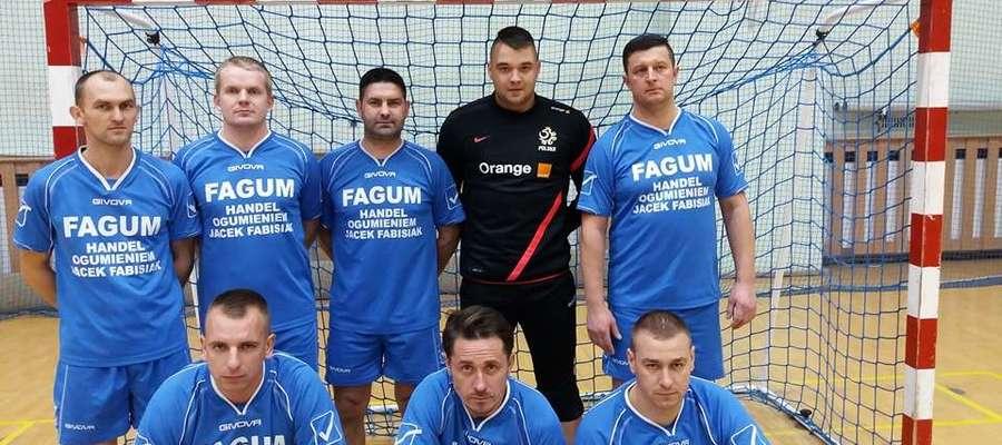 Na zdjęciu obrońcy tytułu z poprzednich rozgrywek FAGUM - BUDOSTAL