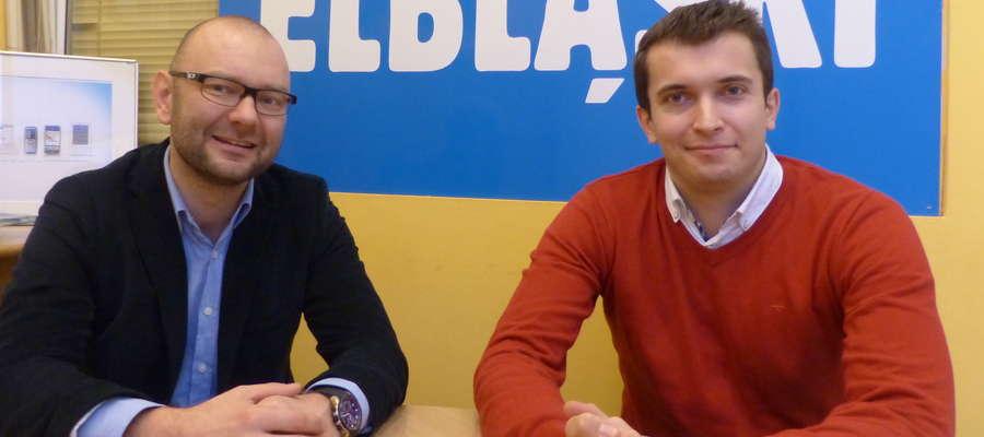 Bartłomiej Sitek i Adam Budzyński