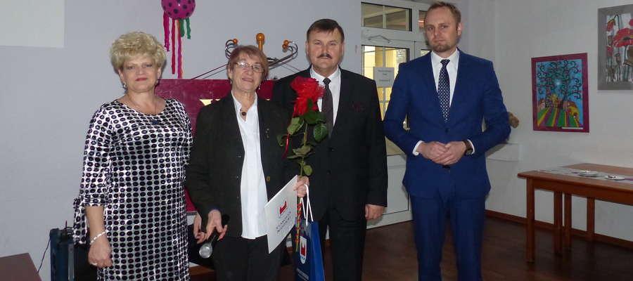 Od lewej: Elżbieta Góralska, Ewa Gałka, Grzegorz Napiwodzki, Paweł Bukowski