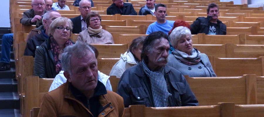 Spotkanie prezydenta Elbląga z mieszkańcami osiedli Osiek i Nowe Pole odbyło się w miniony wtorek w Państwowej Wyższej Szkole Zawodowej