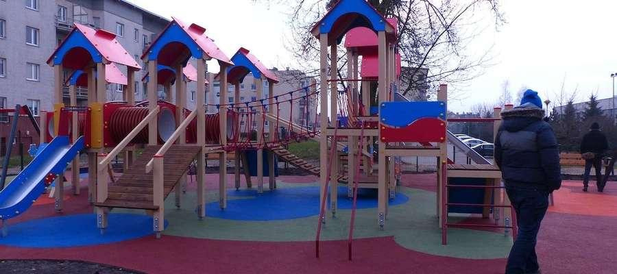 Plac zabaw na ul. Żyrardowskiej
