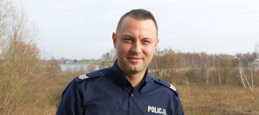 sierż. szt. Sławomir Kowalewski