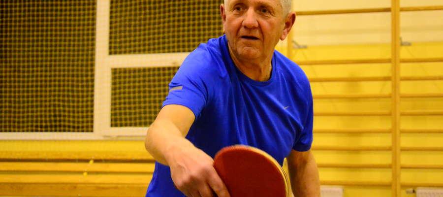 Niespodziankę sprawił senior Włodzimierz Kocieniewski, który zajął trzecie miejsce