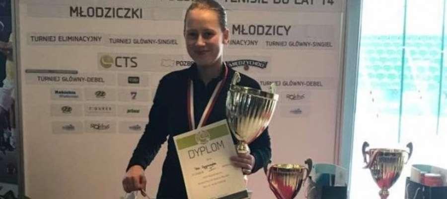 Pola Wygonowska dopiero w półfinale pożegnała się z turniejem juniorek w Heiveld