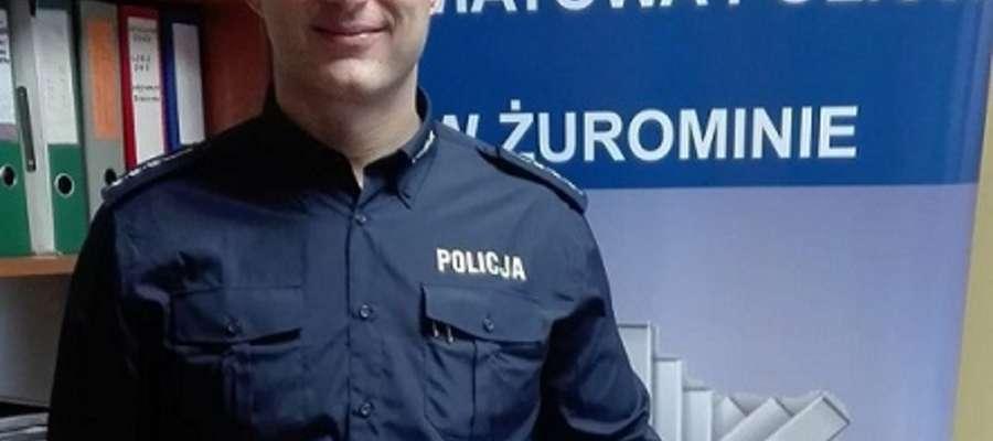St. asp. Robert Wierciński Z CSP w Legionowie zdobył tytuł wicemistrza  w Mistrzostwach Polski Służb Mundurowych w kategorii +100 kg