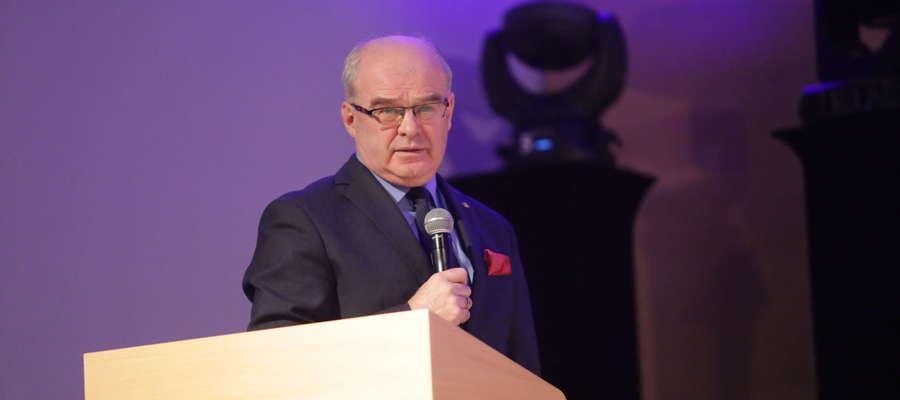 Gen. Waldemar Skrzypczak podczas Kongresu Przyszłości w Olsztynie