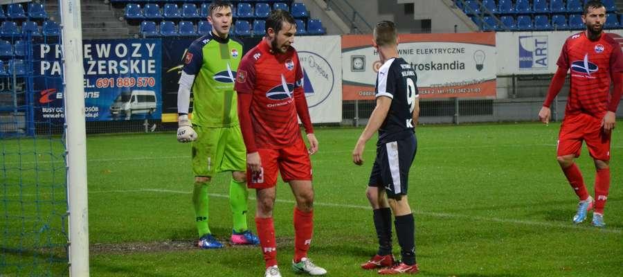 Sokół Ostróda wieczorem nadrobi ligowe zaległości w meczu z Sokołem Aleksandrów Łódzki