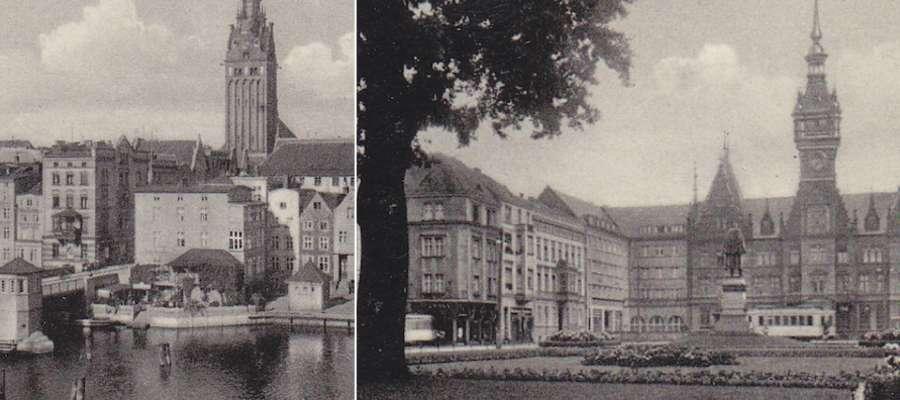 Od lewej: widok na Bulwar Zygmunta Augusta oraz na plac Słowiański