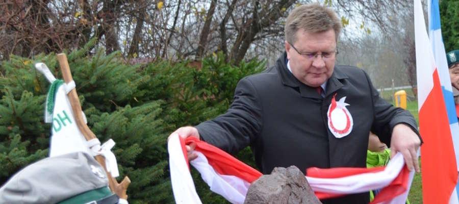 Wójt  gminy Giżycko Marek Jasudowicz
