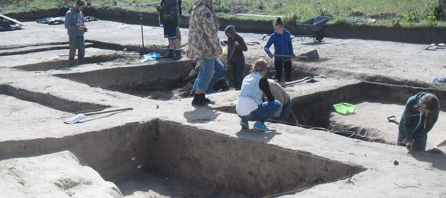 wykopaliska Barczewko