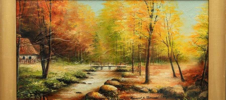 Jeden ze sprzedanych obrazów