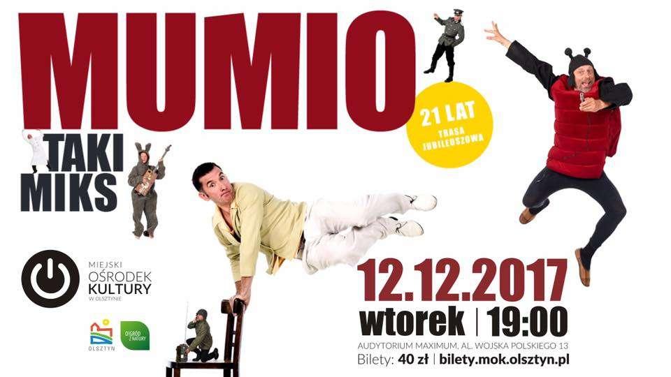 TAKI MIKS: Kabaret Mumio w Olsztynie - full image