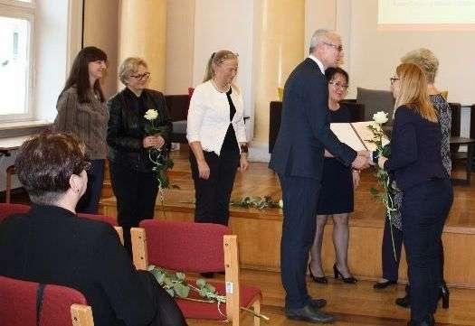 Na uroczystości wręczenia certyfikatów w Warszawie