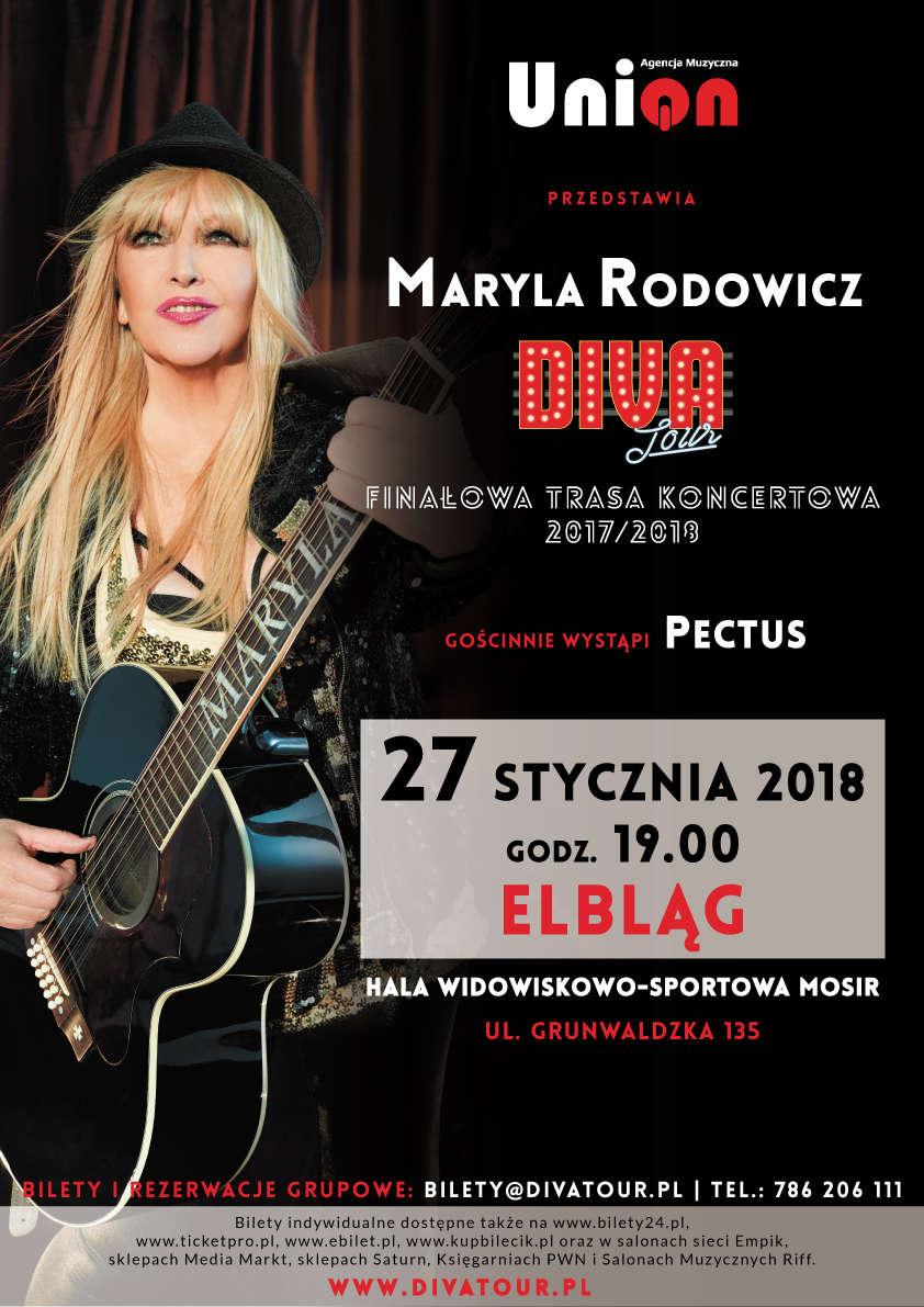 Maryla Rodowicz i zespół Pectus zagrają w Elblągu! - full image