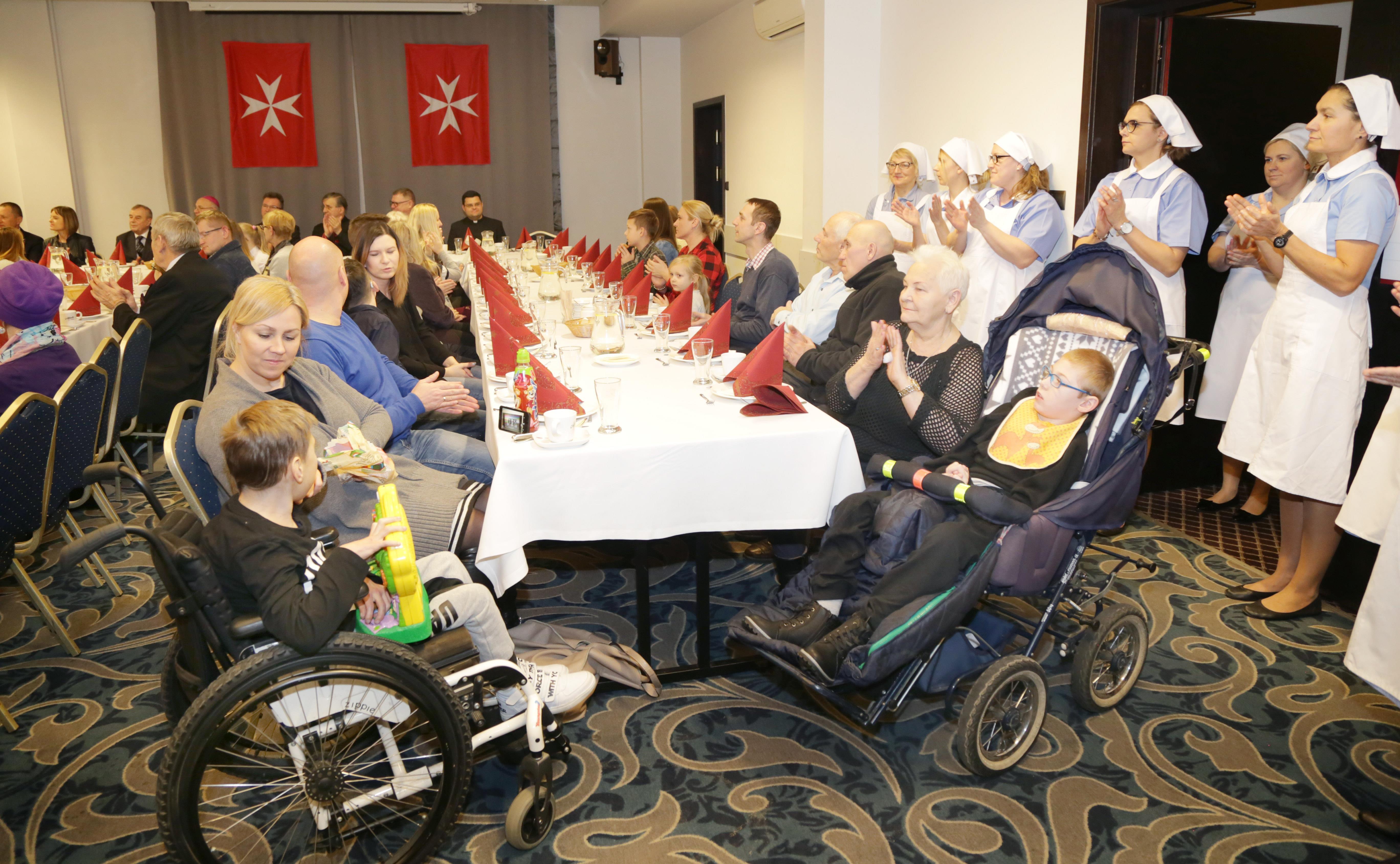 Opłatek Maltański  Olsztyn-Opłatek maltański z Fundacją Przyszłość dla Dzieci w Hotelu Wileńskim