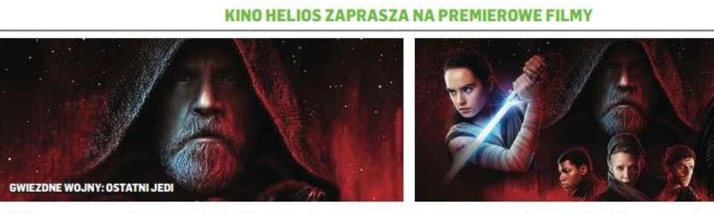 Kino Helios zaprasza. Mamy dla Was bilety!