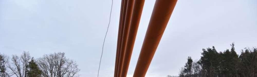 30 ciężarówek testowało most w Ostródzie