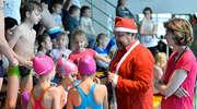 Moc zabawy i radości - Mikołajki na pływalni w Piszu