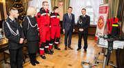 Strażacy-ochotnicy z Gutkowa z nowym sprzętem