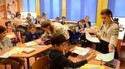 Partnerska wizyta przyjaciół z Ukrainy w Szkole Podstawowej im. Łesi Ukrainki